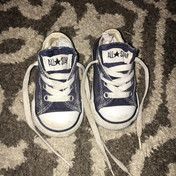 groothandel outlet tinten van geweldige selectie Baby Converse Chuck Taylor Size 4 Blue